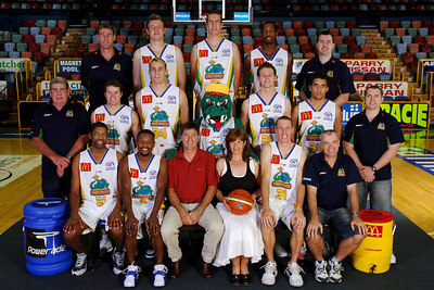 21 SEP 2005 TOWNSVILLE, QLD - Townsville McDonald's Crocodiles 2005-2006 Sponsors Photos.  Premier Trucks NQ - PHOTO: CAMERON LAIRD