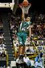 08 Dec 2007 Townsville, Qld - Crocodiles Michael Cedar dunks in the opening quarter - Townsville Crocodiles v Singapore Slingers (Townsville Entertainment & Convention Centre) - PHOTO: CAMERON LAIRD (Ph: 0418 238811)