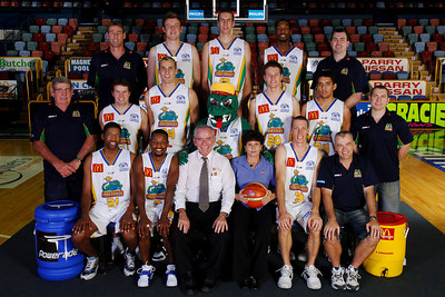 21 SEP 2005 TOWNSVILLE, QLD - Townsville McDonald's Crocodiles 2005-2006 Sponsors Photos.  Queensland Country Credit Union - PHOTO: CAMERON LAIRD