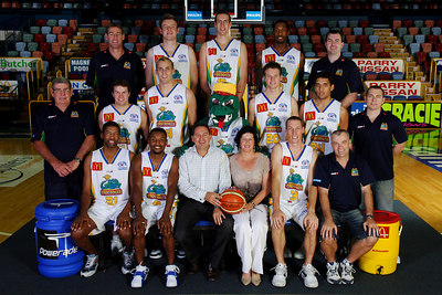 21 SEP 2005 TOWNSVILLE, QLD - Townsville McDonald's Crocodiles 2005-2006 Sponsors Photos.  Principal Building Consultants - PHOTO: CAMERON LAIRD