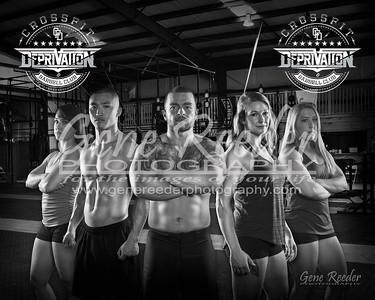 crossfit D poster 2016 BW