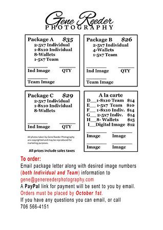 School order form Fall 2021 2