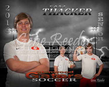 Senior soccer Thacker