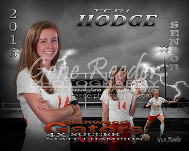 Senior soccer Hodge