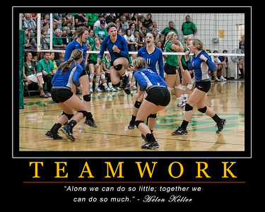 Lakeview Team Motivational Poster 16 x 20