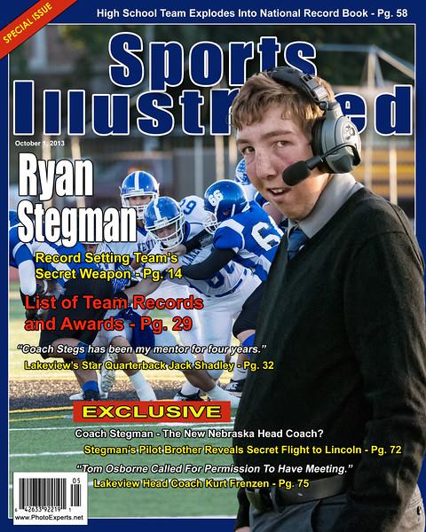 Ryan Stegman Mag Cover 8 x 10_Sport Illustrated