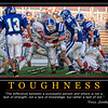 Marcus Holmberg Toughness Motivational Poster 16 x 20