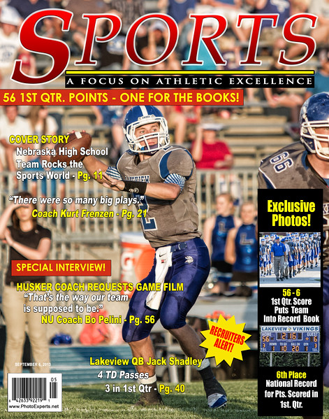Jack Shadley National Record Mag Cover