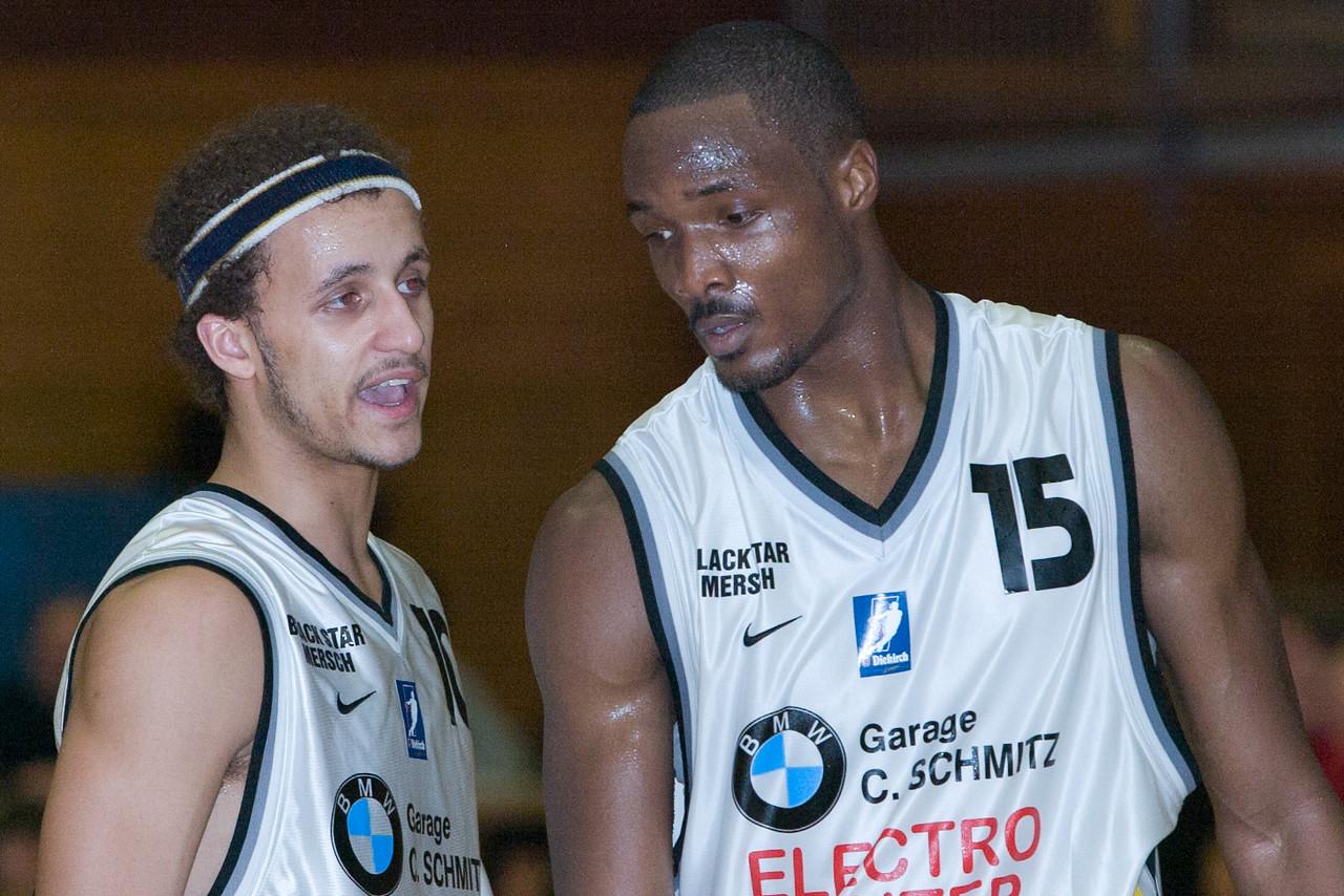 Basketball Black Star Mersch BC Mess