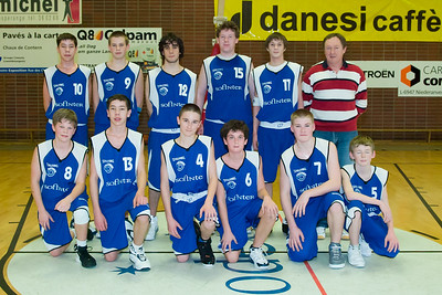 Basketball Coupe de Luxembourg Scolaires AB Contern - US Heffingen