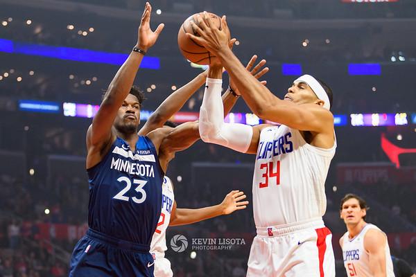 Los Angeles Clippers vs. Minnesota Timberwolves - November 5, 2018