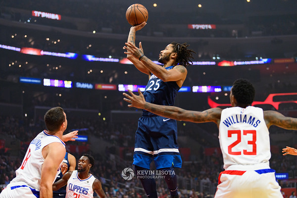Los Angeles Clippers vs. Minnesota Timberwolves - November 5, 2018