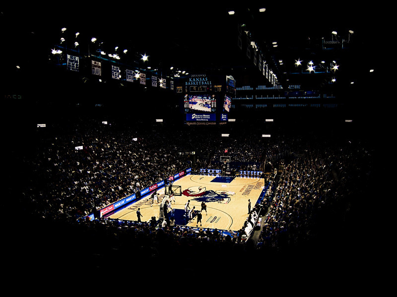 Kansas Jayhawks Basketball - Allen Fieldhouse 2010