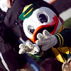 """Puddles"" The University of Oregon Mascot pumps up the crowd Prior to the 114th annual Civil War. UO Defeated OSU 37-20 in the game at Reser Stadium in Corvallis Oregon."