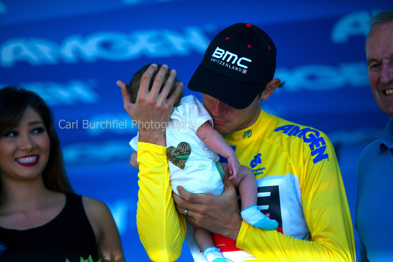 Stage 8 Santa Rosa Finish, TJ & Baby