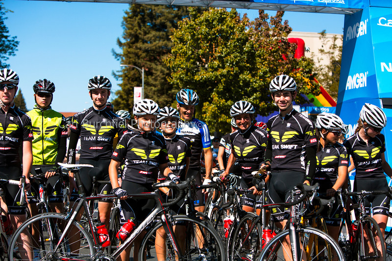 Team Swift, Stage 8 Santa Rosa Finish