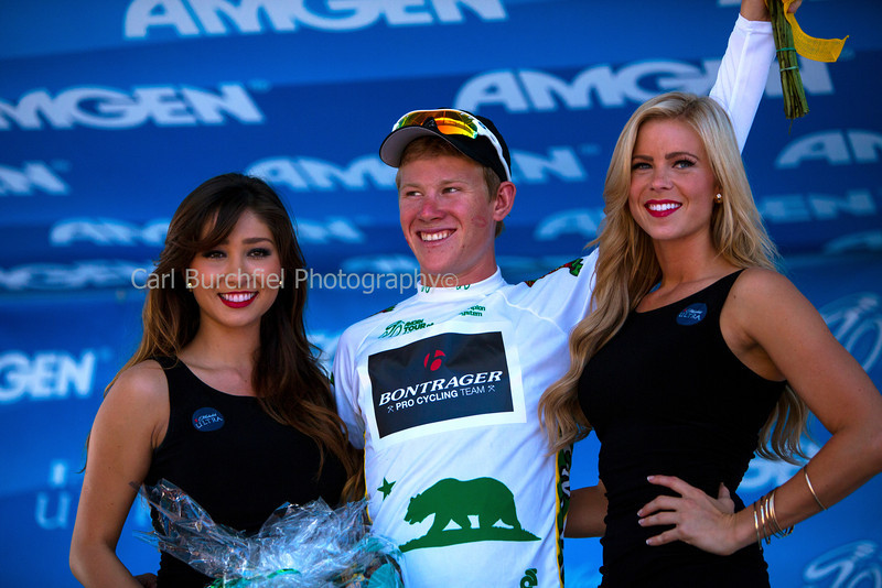Stage 8 Santa Rosa Finish Podium