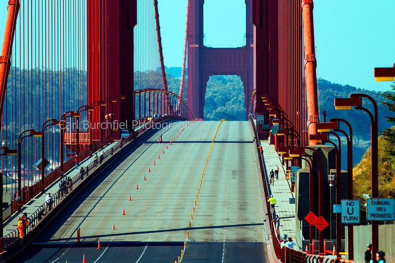 Golden Gate Bridge without cars 2013