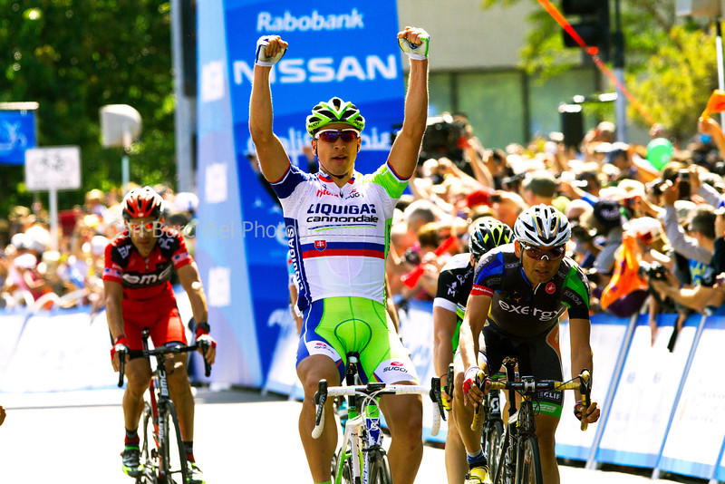 Peter Sagan Santa Rosa Finish