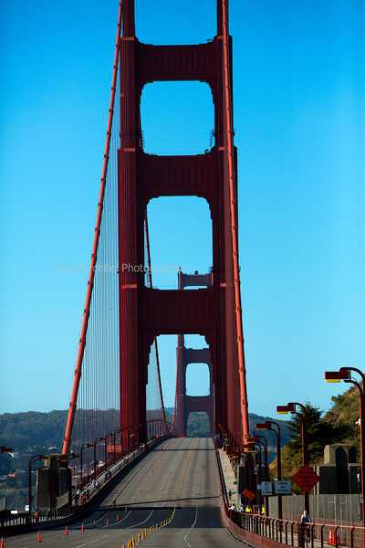 Golden Gate Bridge, without cars