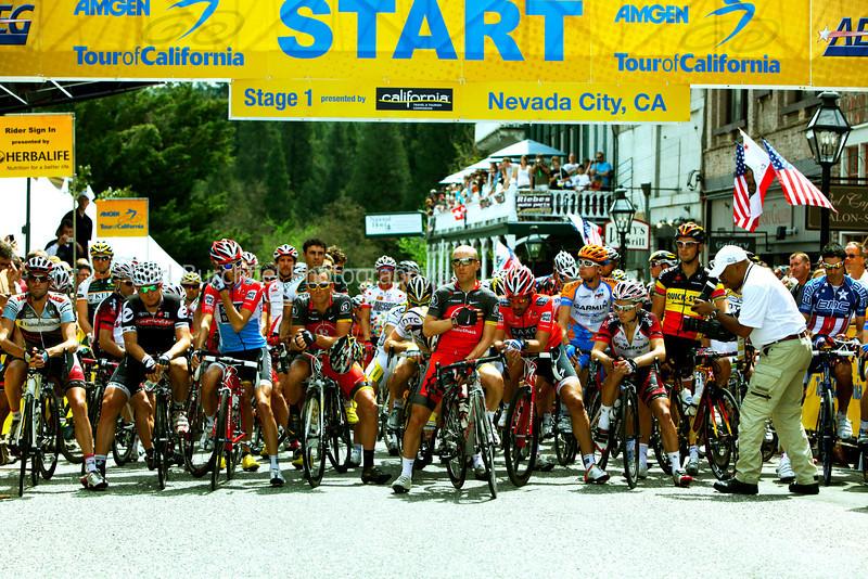 Nevada City Start Line