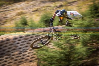 Nick DiNapoli in motion blur