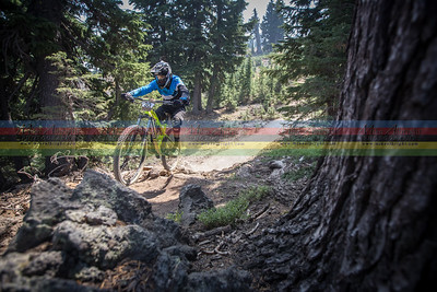Pirmin KuAY from Switzerland was part of a small group of riders stopping in after Crankworx, Whistler.