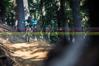 Nikki Hollatz (Dirty Harlets) on the machine-built 'Way Out' trail.