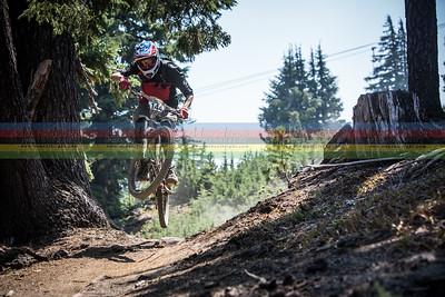 Sport racer Mikey Klautzsch on Stage #4