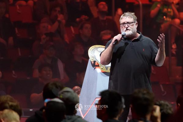 The International - Dota 2 Championships - Gabe Newell