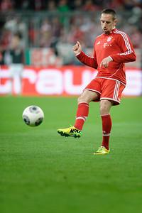 FC Bayern - FC Kaiserslautern Pokalhalbfinale 14,Franck Ribery