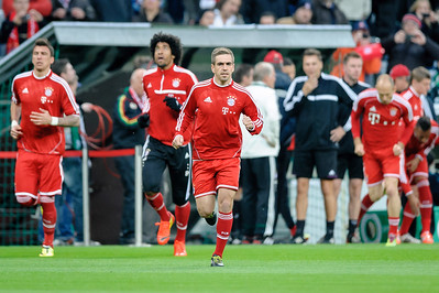FC Bayern - FC Kaiserslautern Pokalhalbfinale 14,Philipp Lahm
