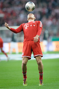 FC Bayern - FC Kaiserslautern Pokalhalbfinale 14,Arjen Robben