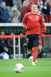 FC Bayern - FC Kaiserslautern Pokalhalbfinale 14,Bastian Schweinsteiger