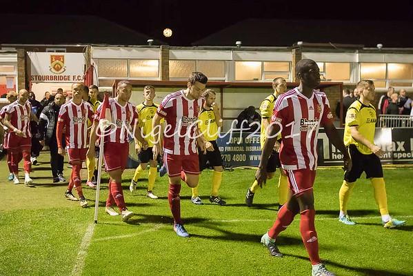 Birmingham Senior Cup Stourbridge 1 Halesowen 1 (5-4 Penalties ) 23.10.2017