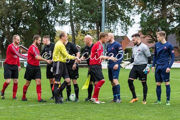 FA Vase AFC Wulfrunians 1 Leicester Nirvana 1 (21.10.2017)