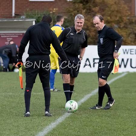 MFL AFC Wulfrunians 0 Coventry Sphinx 5 (18.11.2017)