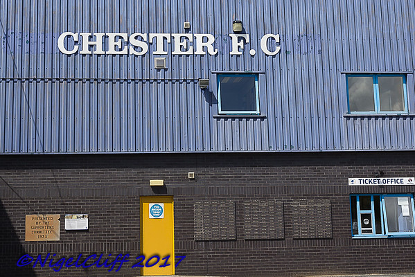PSF Chester FC 1 Walsall 2 (22.07.2017)