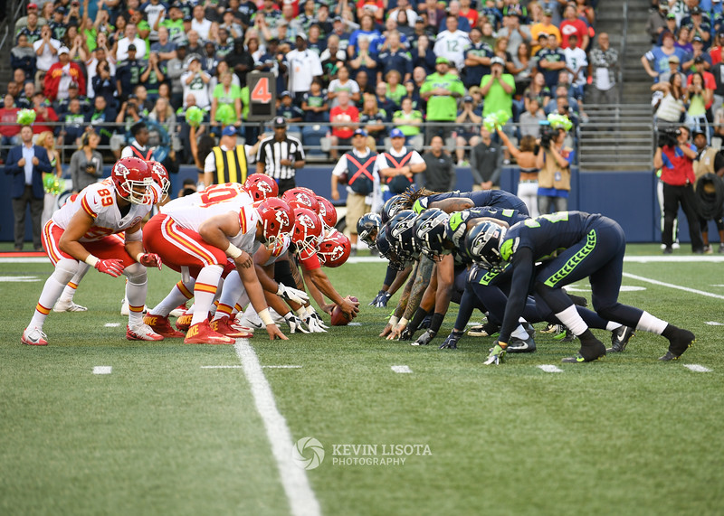 Seattle Seahawks vs Kansas City Chiefs - Aug 25, 2017