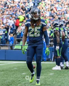 Shaquill Griffin - Seattle Sehawks vs. Los Angeles Chargers - November 4, 2018