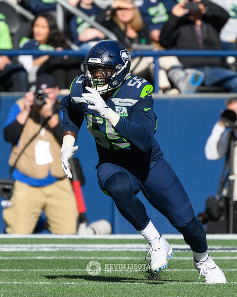 Frank Clark - Seattle Sehawks vs. Los Angeles Chargers - November 4, 2018