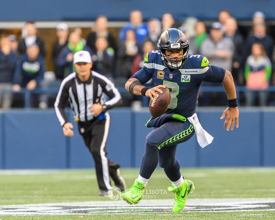 Seattle Seahawks vs Los Angeles Chargers - Nov 4, 2018