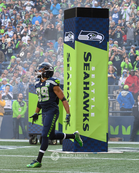 Doug Baldwin - Seattle Sehawks vs. Los Angeles Chargers - November 4, 2018