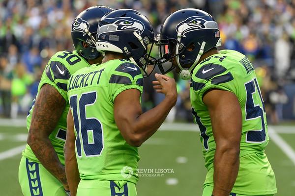 Seattle Seahawks vs Los Angeles Rams - Oct 4, 2019