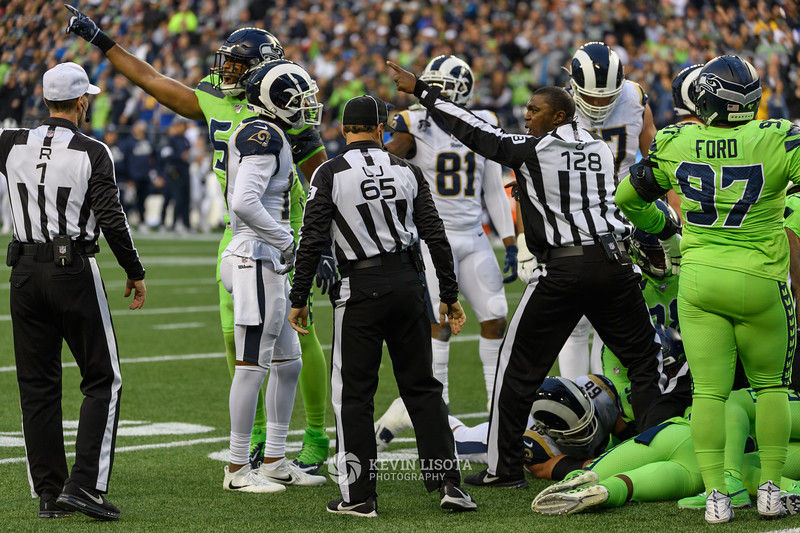 Seattle Seahawks vs Los Angeles Rams - Oct 4, 2019
