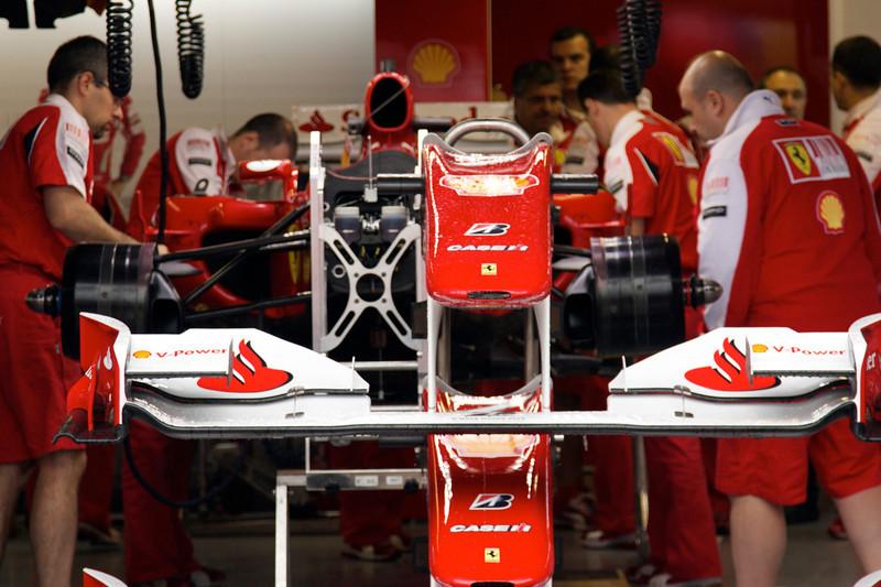 Garage Fernando Alonso