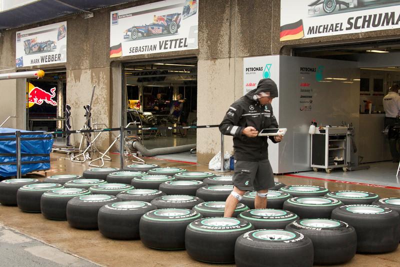 Garage Team Mercedes