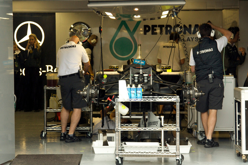 Garage Nico Rosberg