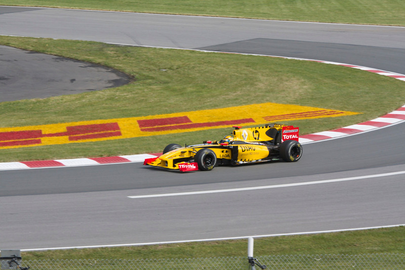 Pratique Robert Kubica-Renault