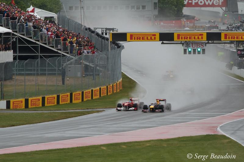 Alonso on Vettel